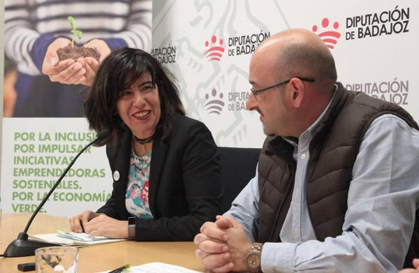 Acción contra el Hambre - Andalucía y Extremadura y el Área de Desarrollo Sostenible de la Diputación de Badajoz apuestan por la economía verde y circular para la generación de #empleo