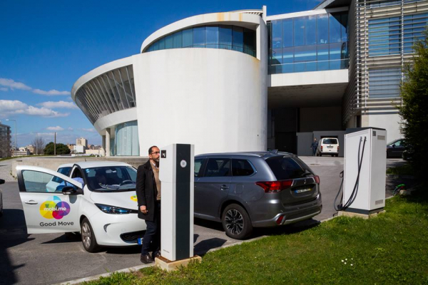 El Área de Desarrollo Rural y Sostenibilidad, ha visitado el #CEIIA de #Oporto, para conocer de primera mano la plataforma que se usa en #Portugal para gestionar la red de puntos de recarga de #vehículos #eléctricos.