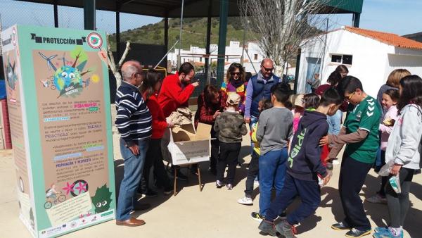 Ayer jueves, los técnicos del #ProyectoADAPTALOCAL celebraron el segundo taller de sensibilización frente al cambio climático para centros educativos, con la colaboración de Cruz Roja