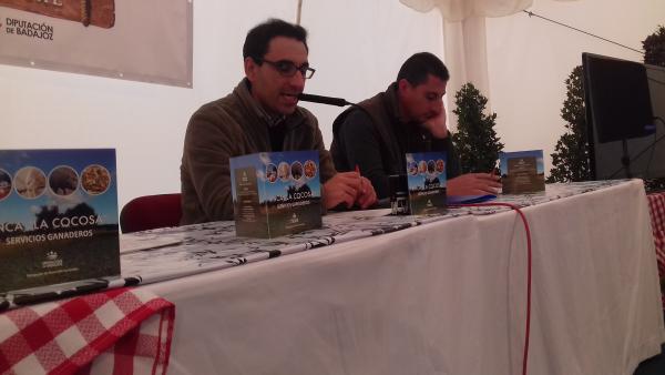 """La Diputación de Badajoz participa en la primera subasta de ganado de la VIII Edición """"Vive la Trashumancia"""""""