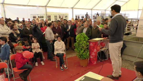 La Diputación de Badajoz participará en la 65 edición de la Feria del Ganado de La Zarza