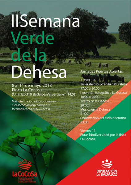 La Diputación de Badajoz celebra por segundo año consecutivo la Semana Verde de la Dehesa
