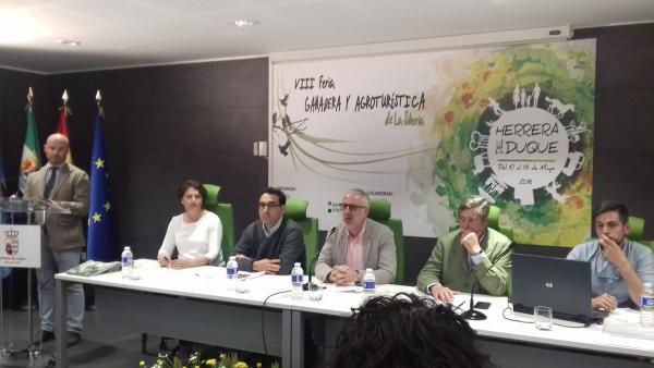 Éxito rotundo de Diputación de Badajoz en la subasta de ganado de la VIII Feria Agroturística y Ganadera de la Siberia
