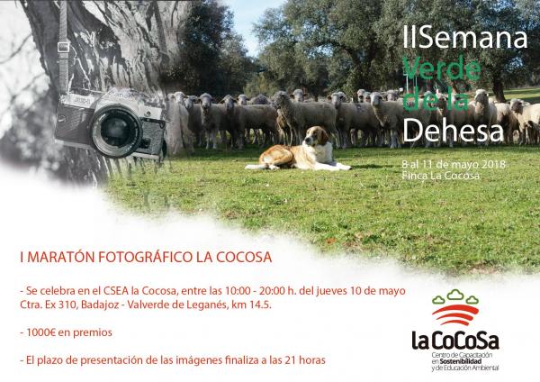 MAÑANA SE CELEBRA EL I MARATÓN FOTOGRÁFICO LA COCOSA