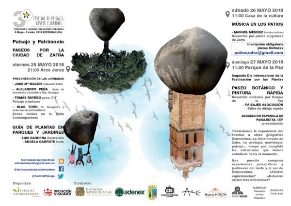 Hoy viernes a las 21:00 en El Arco Jerez de #Zafra, será presentada la nueva Guía de Plantas en Parques y Jardines, con textos de Ángela Garrote e ilustraciones de Luis Barrena.