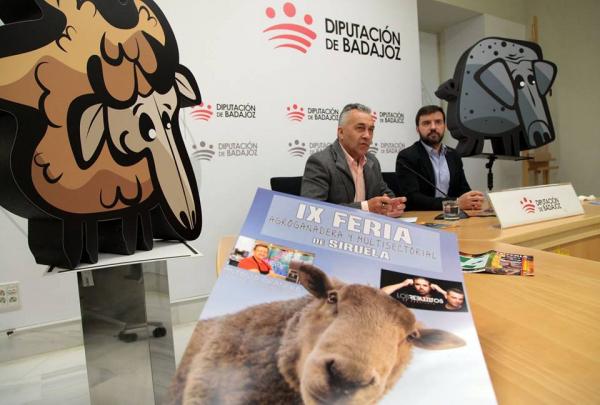 La Diputación de Badajoz, a través del Área de Desarrollo Sostenible, participará la IX Feria del Agroganadera y Multisectorial de Siruela, que se celebra del 1 al 3 de junio.