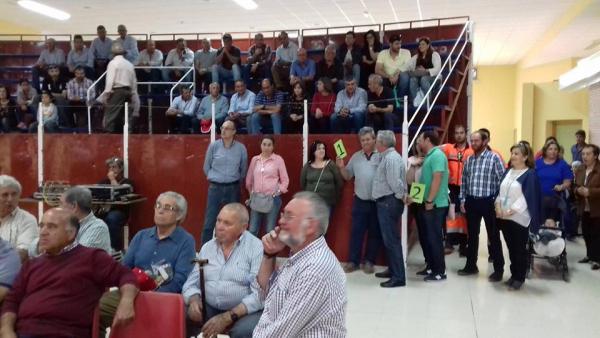 Diputación de Badajoz ha participado en la subasta de ganado de la IX Feria Agroganadera y Multisectorial de Siruela