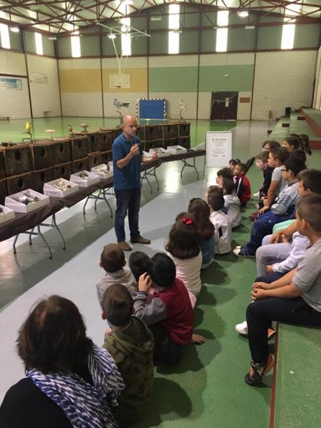 Encantados de colaborar con la educación por la sostenibilidad y la conservación del medioambiente en nuestros municipios