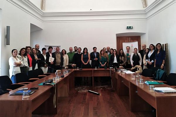 Los socios del Proyecto Red URBANSOL se reúnen en Portalegre
