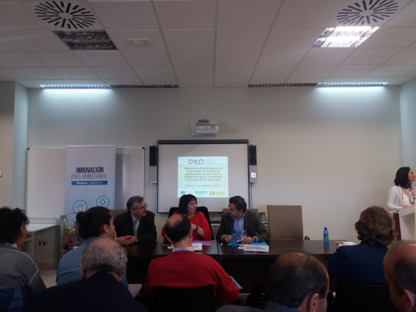 La Diputación de Badajoz participa en la jornada de transferencia de tecnología de proyectos innovadores