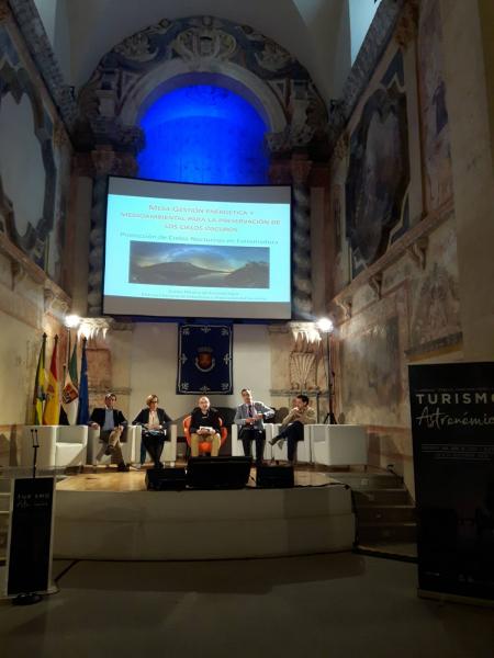 La Diputación ha participado en la mesa redonda de Gestión Energética y Medioambiental para la protección de cielos nocturnos