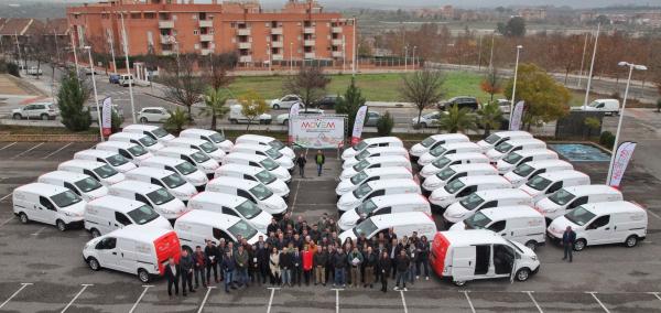 La Diputación de Badajoz entrega otros 44 vehículos eléctricos a municipios de la provincia