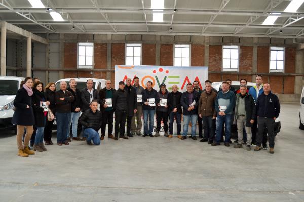 El Plan MOVEM de la Diputación de Badajoz continúa en Zafra con la entrega de 12 vehículos eléctricos