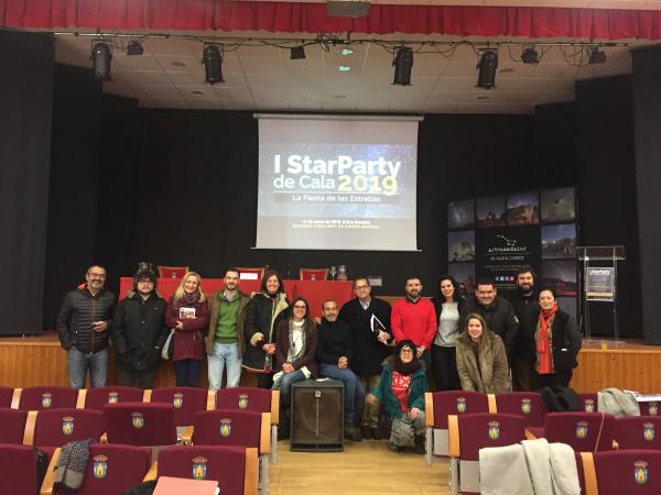 Diputación de Badajoz participa en las I Jornadas Técnicas de Turismo Astronómico: STARTPARTY de Cala 2019