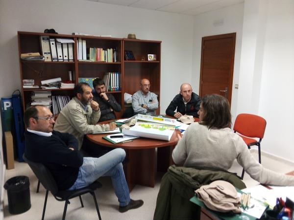 Las Diputaciones de Badajoz y Huelva intercambian experiencias para luchar contra el cambio climático a través del proyecto ADAPTA BIOFILIA