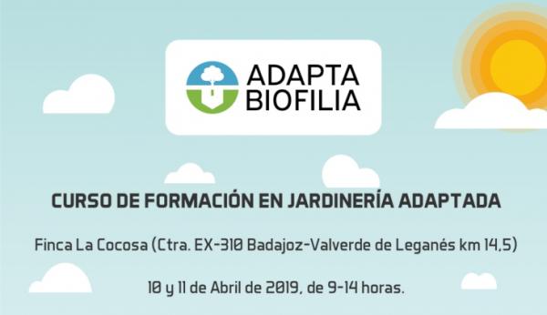 Mañana miércoles comienza en CSEA La Cocosa el curso sobre jardinería adaptada al cambio climático