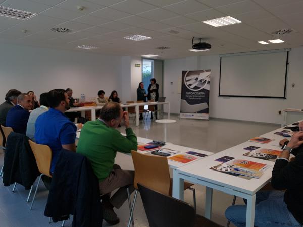 """Diputación de Badajoz participa en la Mesa de Intercambio: """"Movilidad Eléctrica en la EUROACE: Transporte sostenible en zonas rurales"""""""