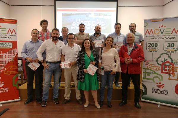 Diputación de Badajoz apuesta por un transporte verde y sostenible