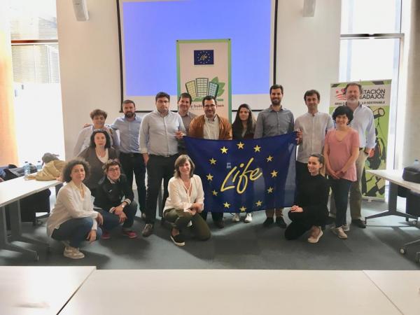 Diputación de Badajoz acoge la primera reunión de control del proyecto LIFE – My Building is Green