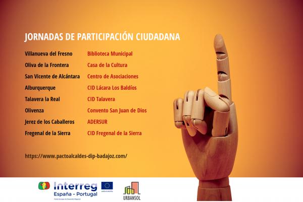 Diputación de Badajoz organiza jornadas de participación ciudadana contra el cambio climático en ocho municipios pacenses