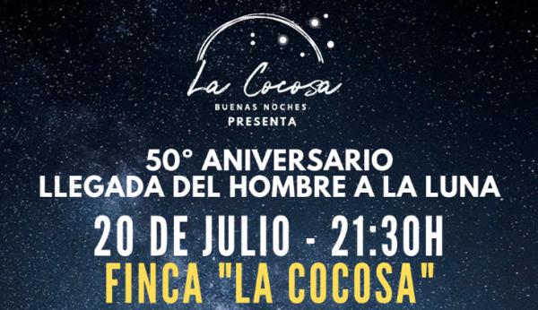 Diputación de Badajoz celebra el 50 Aniversario de la llegada del hombre a la luna con una jornada astronómica en La Cocosa