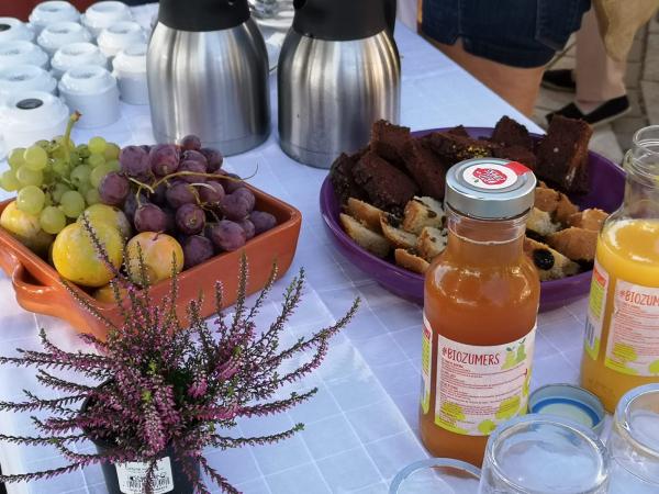 Diputación de Badajoz celebra en la Cocosa su segundo EcoDesayuno