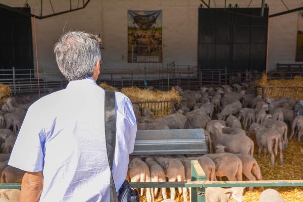 Productores agrícolas ecuatorianos visita la finca La Cocosa de Diputación de Badajoz