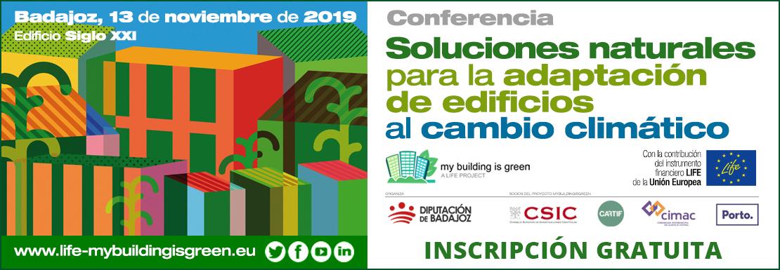 Inscripciones Conferencia LIFE My Building is Green