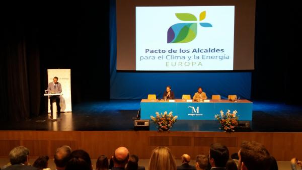 Diputación de Badajoz ha participado en el Encuentro Nacional del Pacto de Alcaldes por el Clima y la Energía celebrado en Málaga