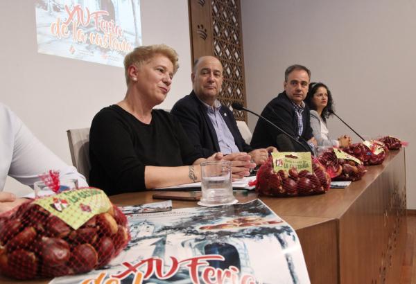 La XIV Edición de la Feria de la Castaña se celebrará desde el día 1 al 3 de noviembre en Cabeza la Vaca