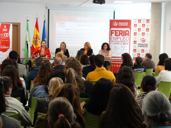 Más de 1600 asistentes y 590 entrevistas de trabajo realizadas durante 2019 en las Ferias de Empleo, Emprendimiento y Empresa de Diputación de Badajoz