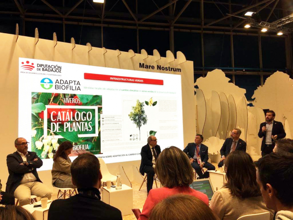 Diputación de Badajoz presenta en la Cumbre de Madrid sus medidas frente al cambio climático