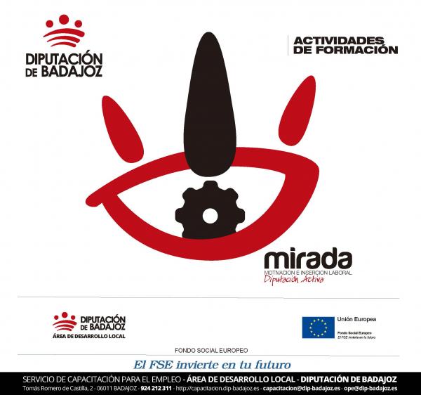 Diputación de Badajoz realizará un curso de Atención Sociosanitaria a Personas Dependientes en Instituciones Sociales