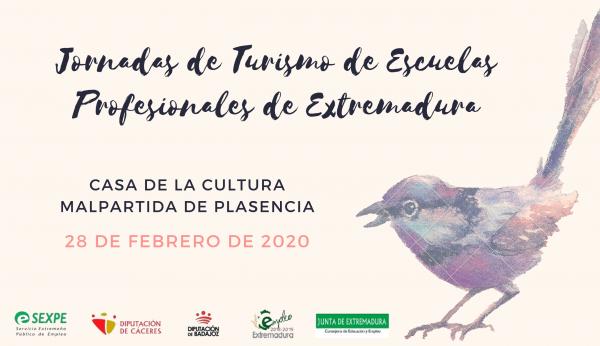 Malpartida de Cáceres acoge las jornadas de turismo de las escuelas profesionales de Extremadura