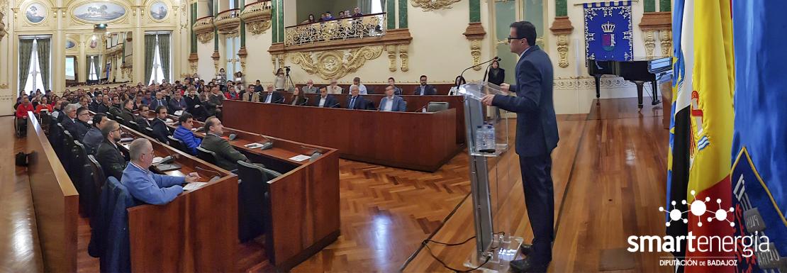 La Diputación de Badajoz destina 27,5 millones a mejorar la eficiencia energética de la provincia