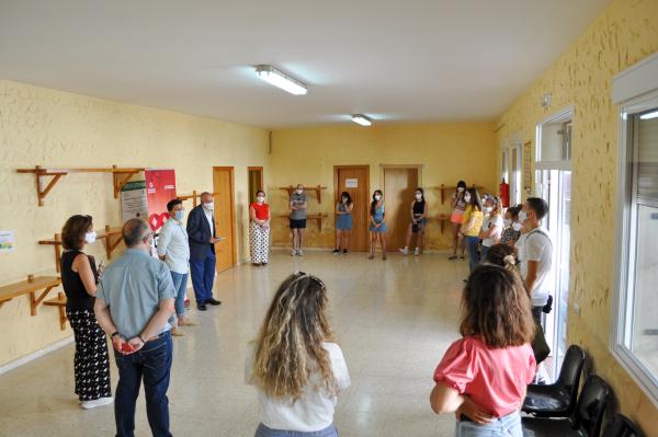Inaugurada en Hornachos la acción formativa de 'Simulación empresarial'