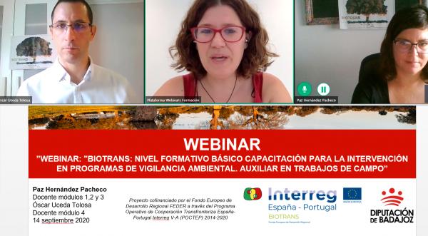 La Diputación de Badajoz forma a su personal sobre capacitación en planes de vigilancia ambiental