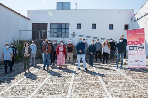 Inaugurada en Cabeza la Vaca la acción formativa de 'Gestión Forestal'