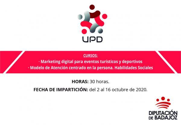 La Diputación de Badajoz va a comenzar dos cursos sobre hostelería y turismo y atención sociosanitaria