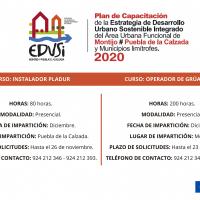 Diputación de Badajoz, a través del Proyecto EDUSI Montijo-Puebla de la Calzada, va a iniciar dos nuevas acciones formativas