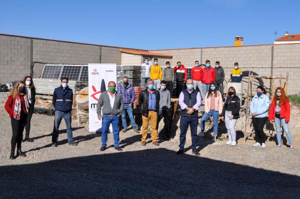 Diputación de Badajoz inaugura un curso de Instalaciones solares fotovoltáicas en Bienvenida