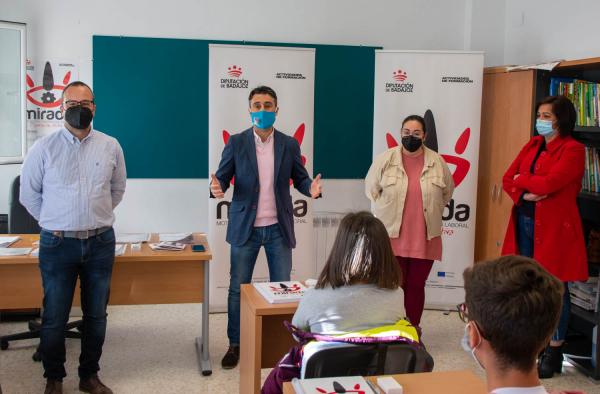 Inaugurado en Puebla de la Calzada un curso de Actividades Auxiliares de Almacén impulsado por la Diputación de Badajoz