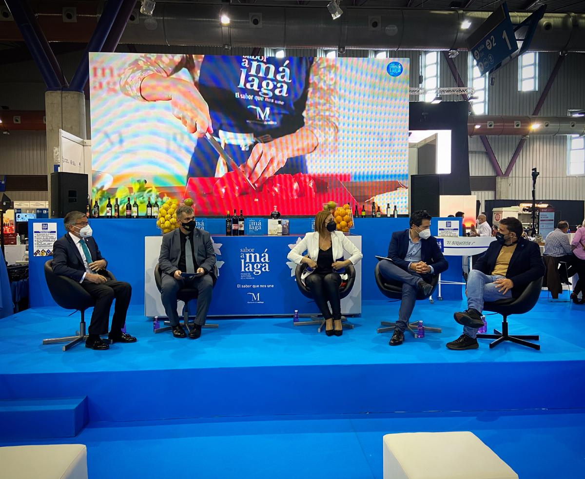 La Diputación de Badajoz presenta en Málaga su modelo de promoción de productos locales de la provincia de Badajoz