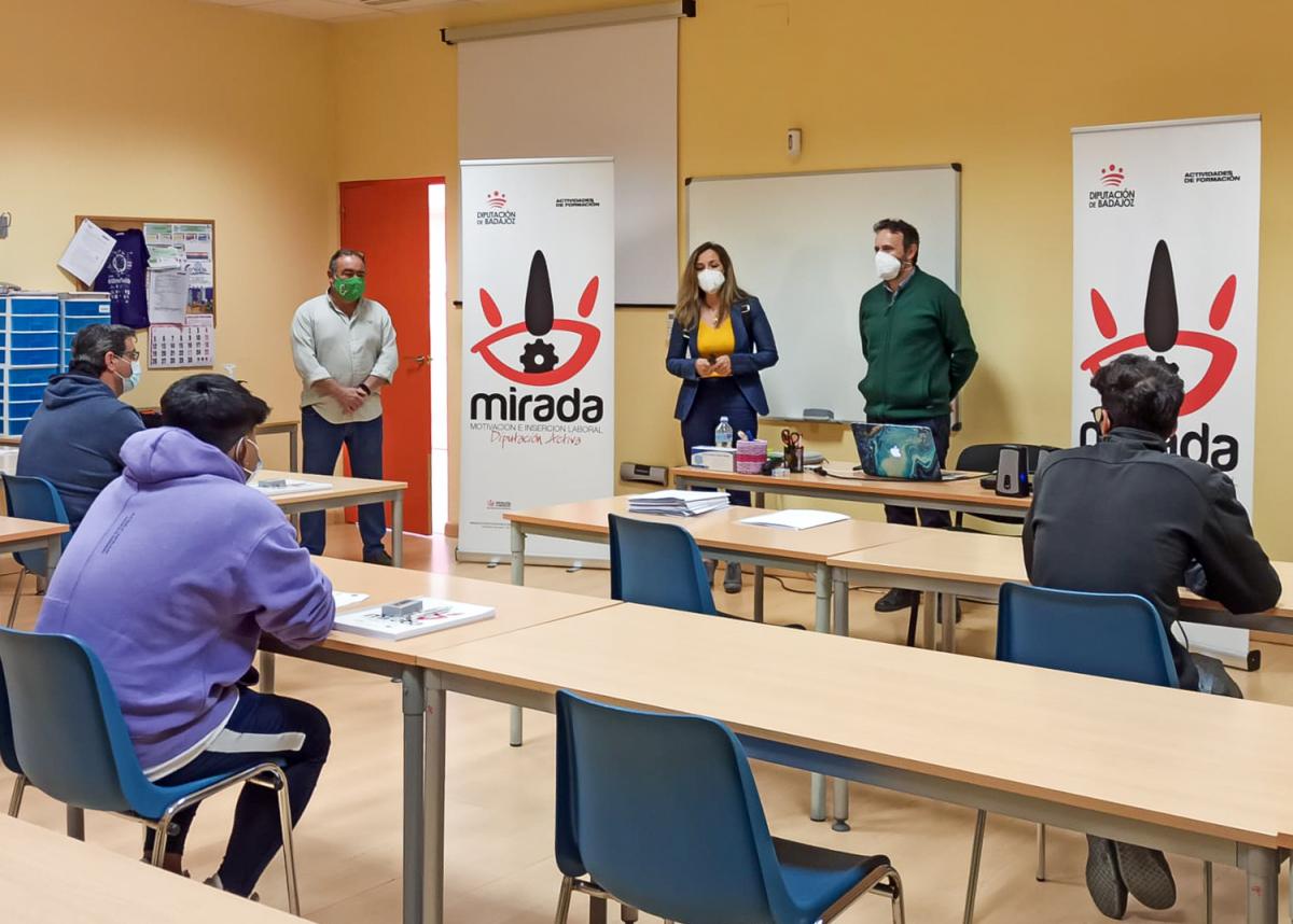 Inaugurada la acción formativa de Soldadura Oxigás y Soldadura MIG/MAG en Almendralejo, impulsada por la Diputación de Badajoz