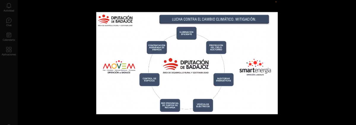 La Diputación de Badajoz participa en un seminario cubano sobre modelo energético, eficiencia energética y energías renovables