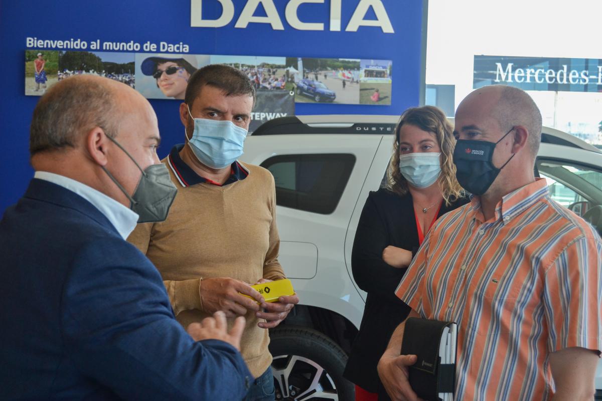 El Vivero Provincial de la Diputación de Badajoz incorpora a su flota un vehículo 100% eléctrico