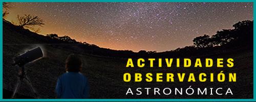 Actividades de Observación Astrónomica
