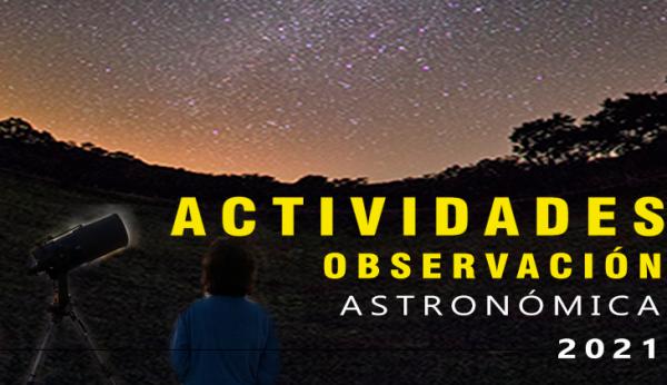 Actividades de Observación Astronómica