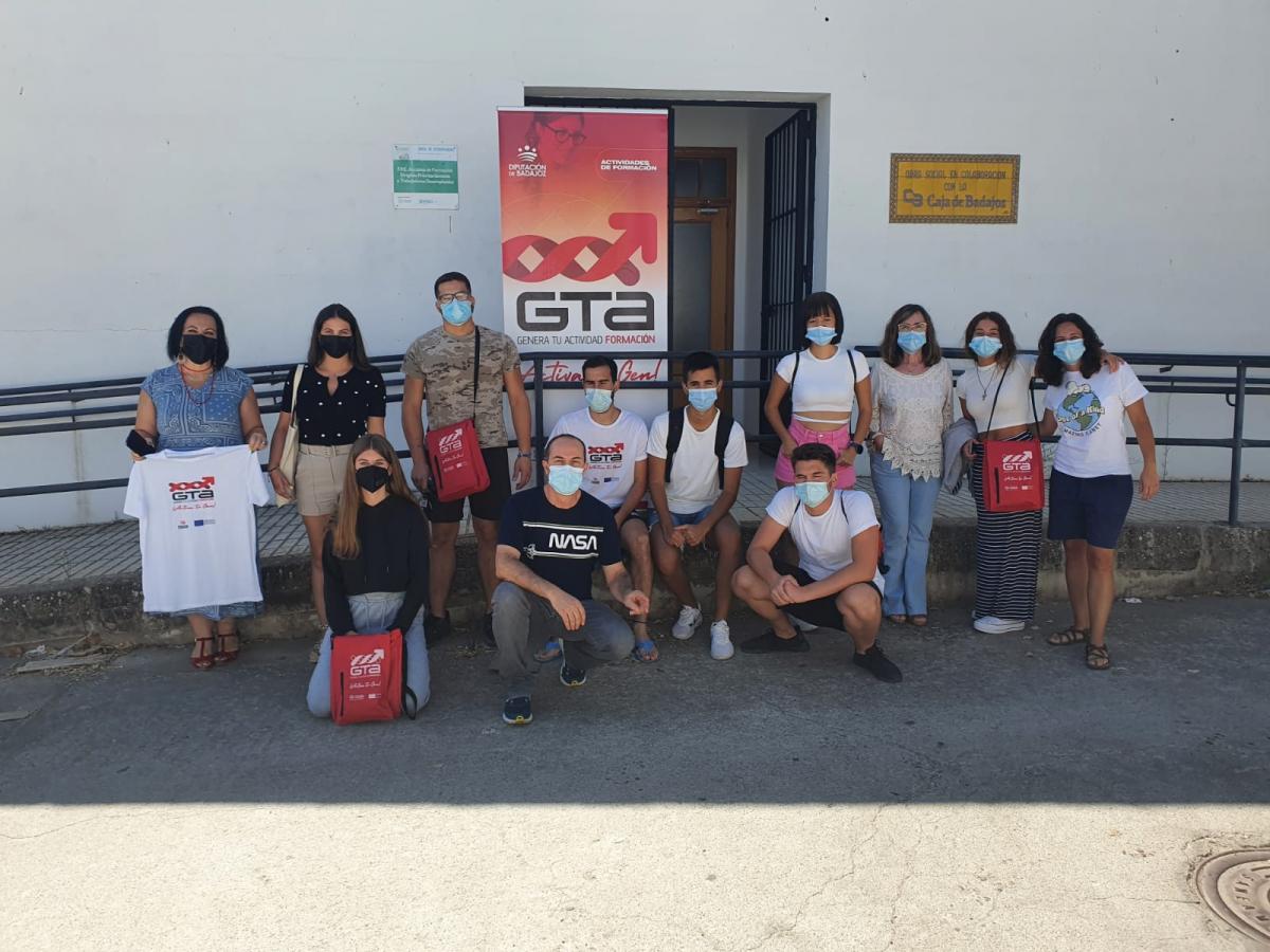 Clasurado el curso de Dinamización de actividades de tiempo libre educativo infantil y juvenil en Llerena