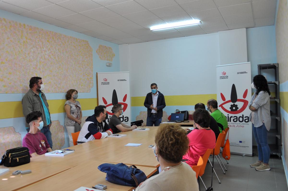 Comienza en Guareña una acción formativa de ''Horticultura, fruticultura y gestión de residuos agroalimentarios''